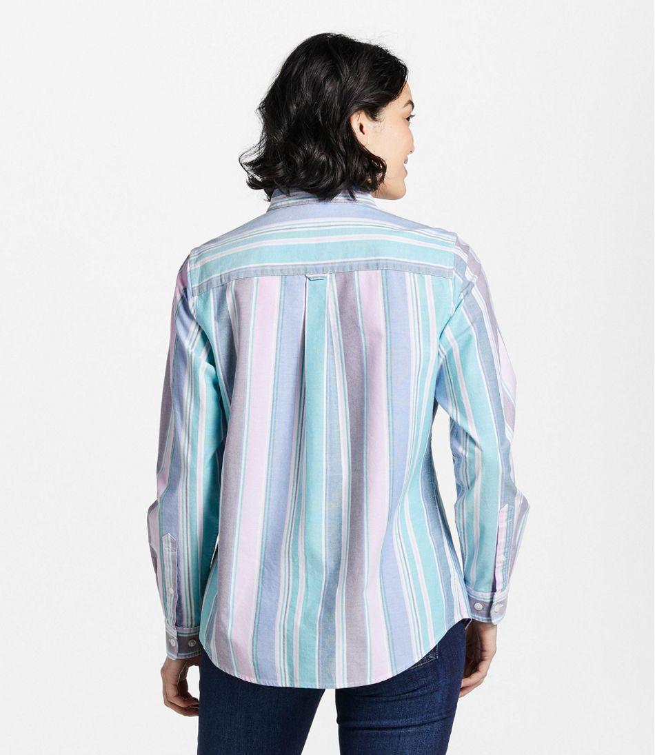 Lakewashed® Organic Cotton Oxford Shirt, Stripe