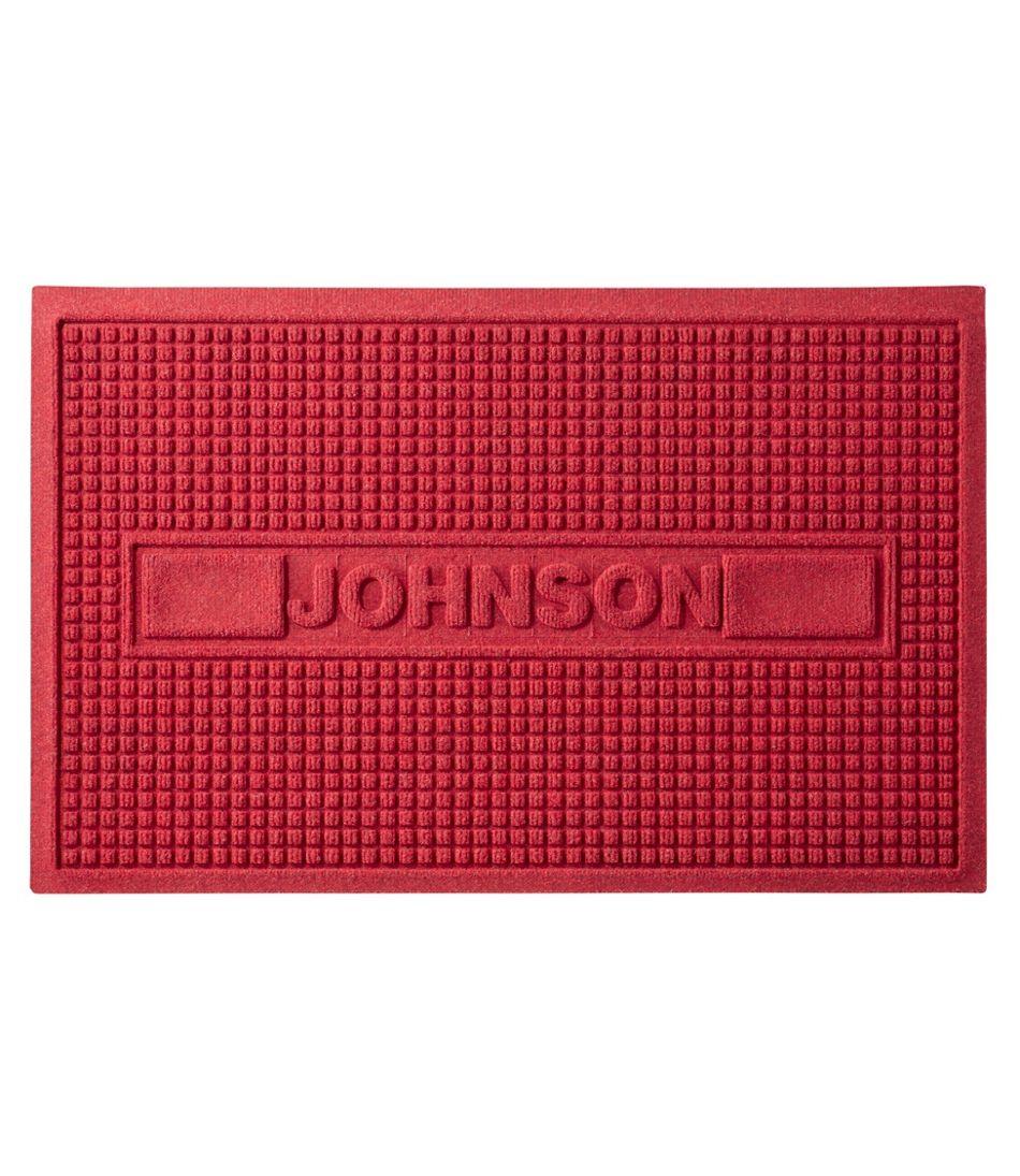 Everyspace Recycled Waterhog Doormat, Personalized