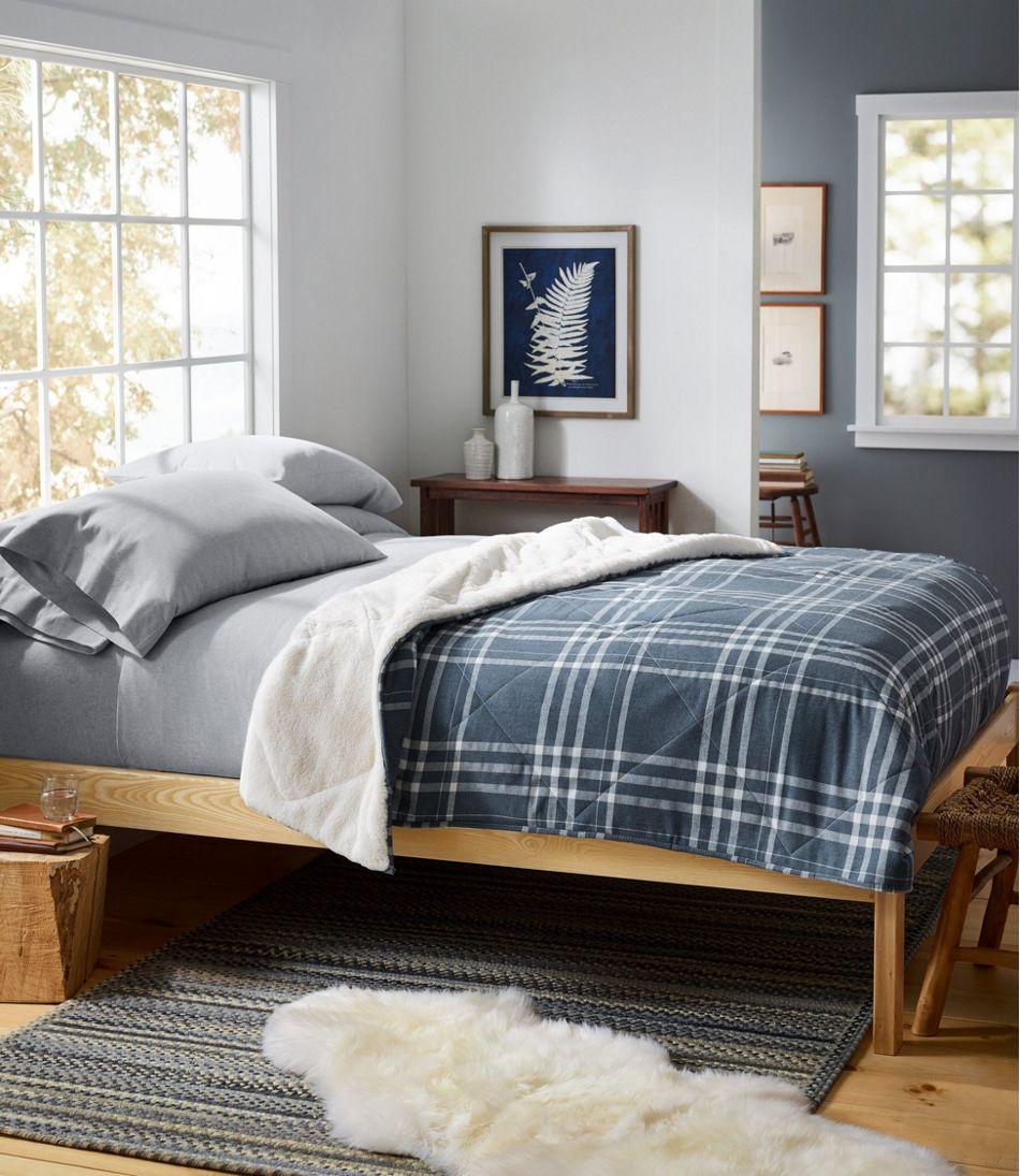 Plush Backed Comforter Set