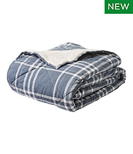 Plush Backed Comforter Set