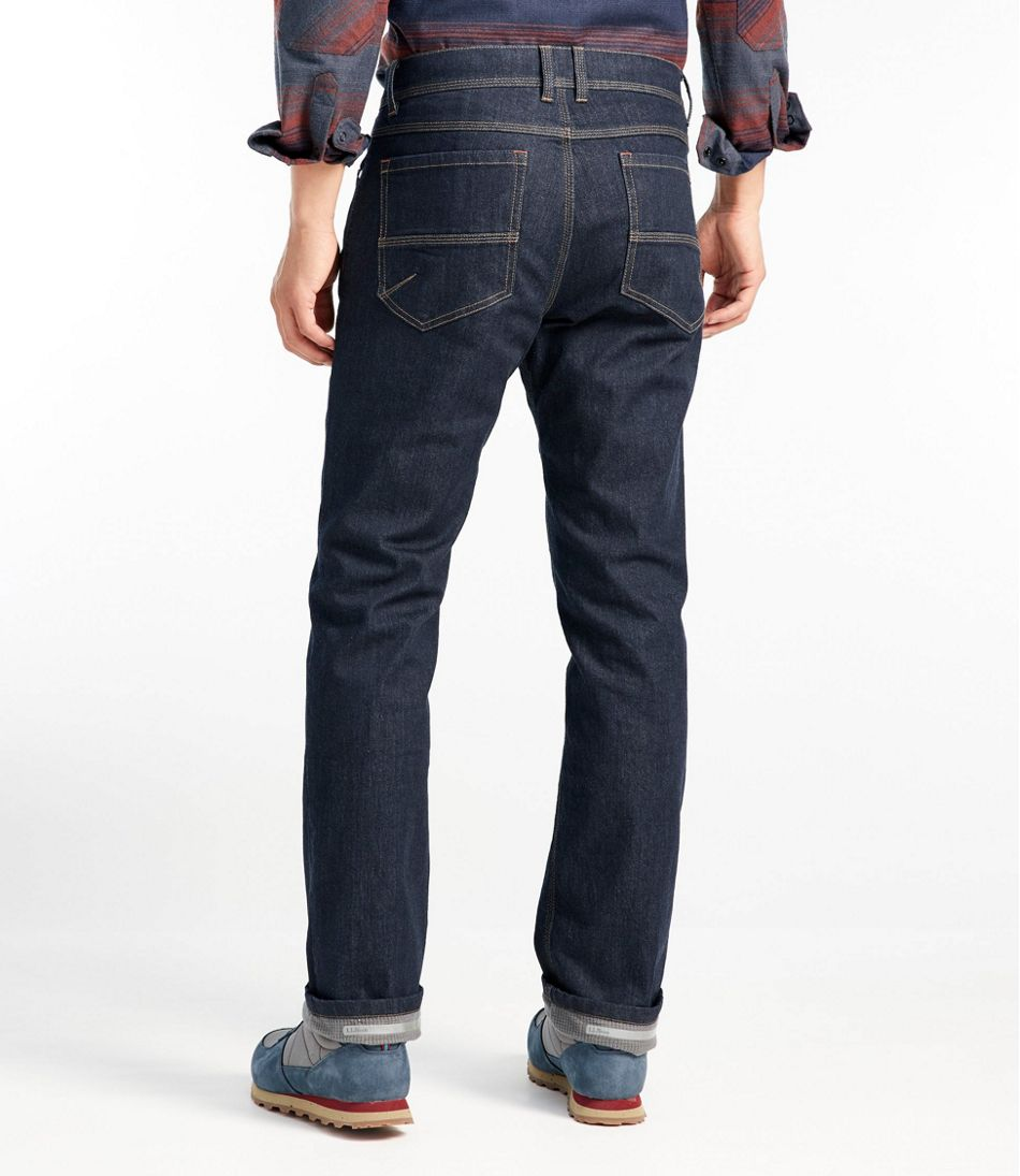 Mountain Town Cordura Jeans, Fleece-Lined