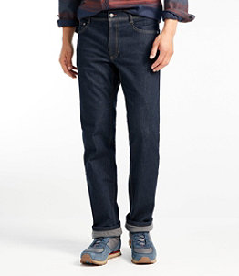 Men's Mountain Town Cordura Jeans, Fleece-Lined