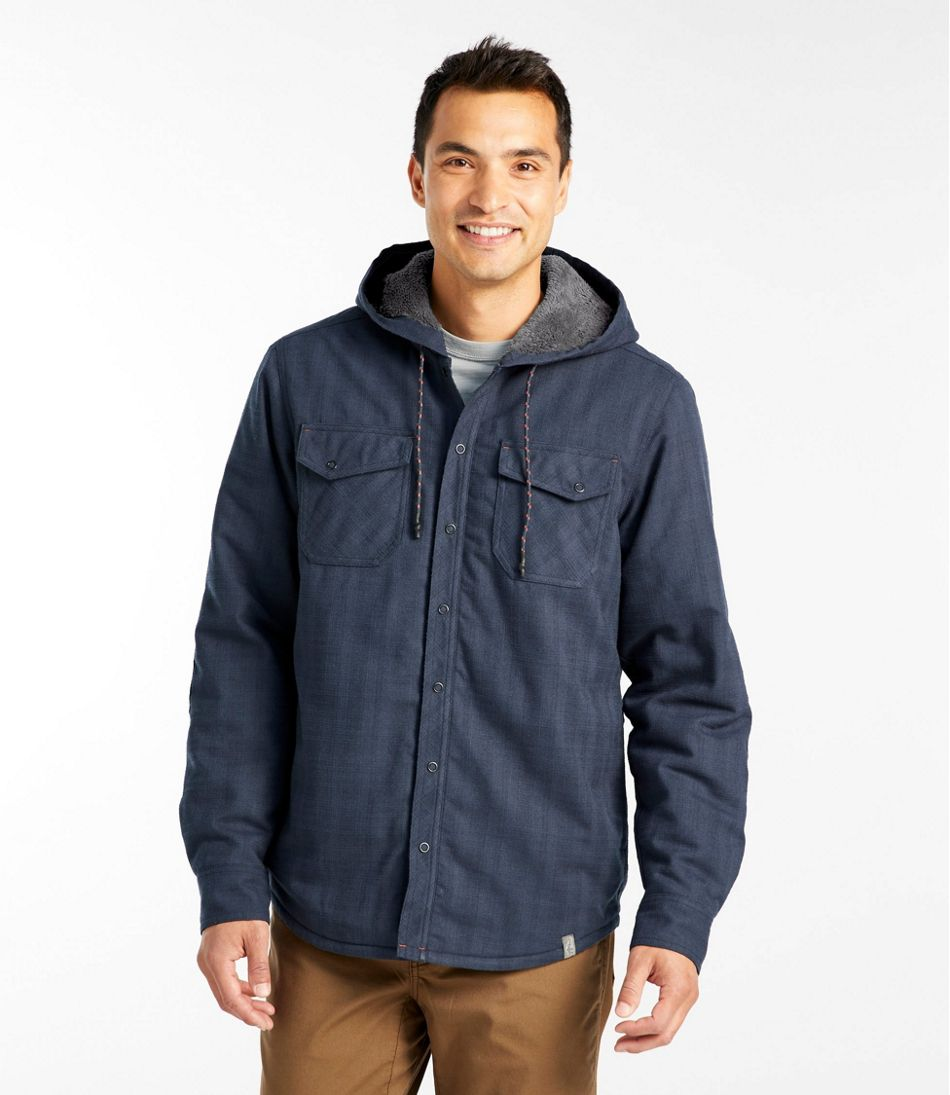 Men's Overland Performance Flannel Shirt, Hi-Pile Fleece Lined