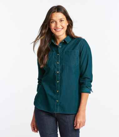 Women's L.L.Bean Heritage Corduroy Shirt, Long-Sleeve