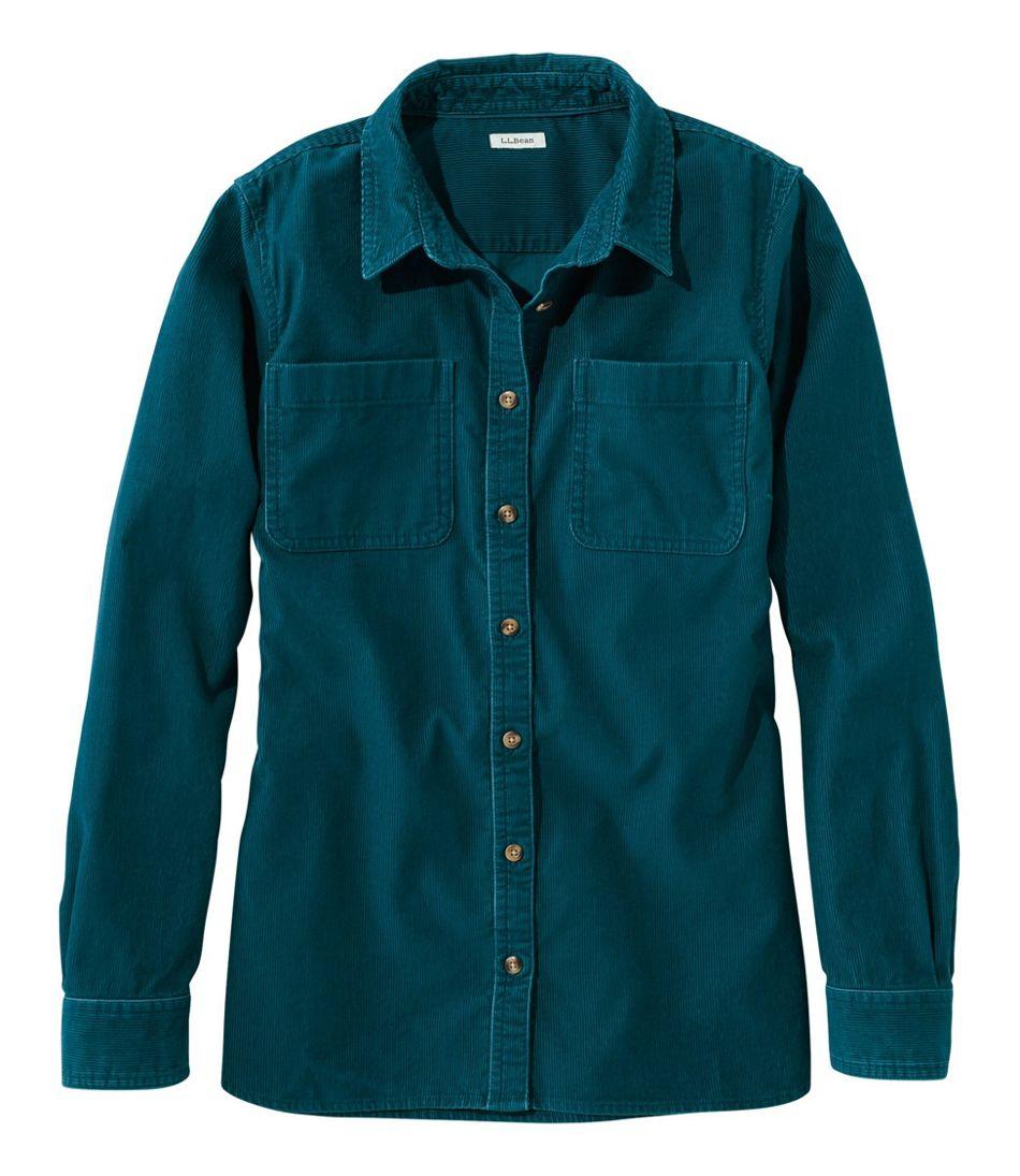 L.L.Bean Heritage Corduroy Shirt, Long-Sleeve