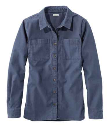 L.L.Bean Heritage Corduroy Shirt, Long-Sleeve