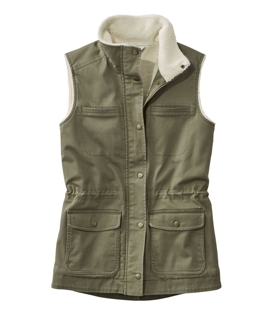 Classic Utility Vest, Sherpa-Lined
