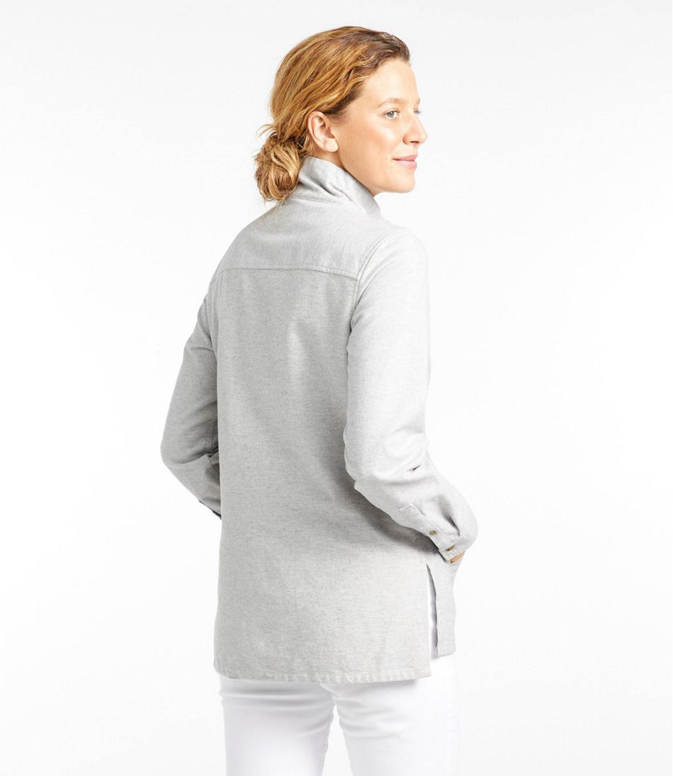 Heritage Chamois Shirt, Zip Pullover