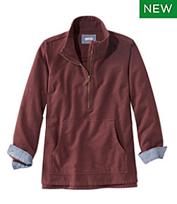 Heritage Chamois Shirt, Zip Pullover