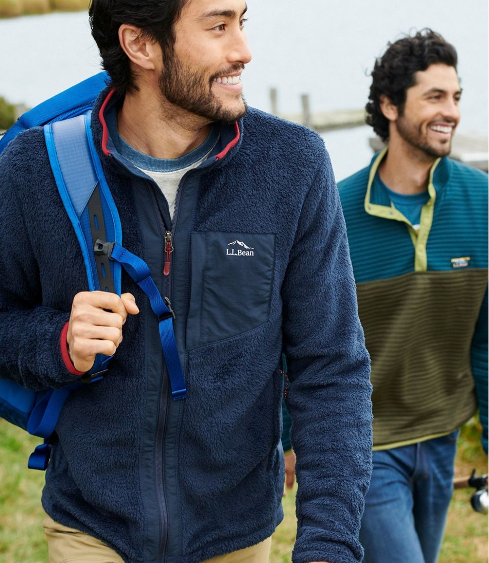 Men's Adventure Hybrid Fleece Full-Zip Jacket
