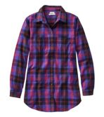 Women's Scotch Plaid Flannel Shirt, Tunic