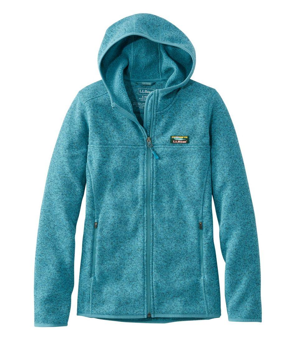 Women's L.L.Bean Sweater Fleece, Full-Zip Hoodie
