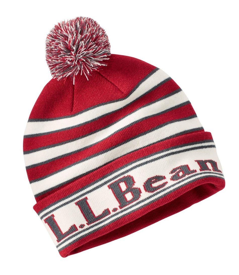 Katahdin Pom Hat Stripe