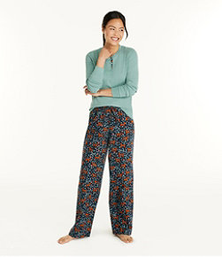 Women's Cozy PJ Set, Dog Print