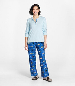 Women's Cozy PJ Set, Print