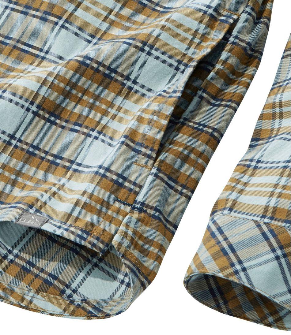 Women's Cabin Stretch Flannel Shirt, Plaid