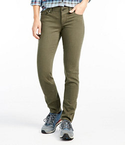 Bean's Performance Stretch Slim Leg Jeans, Color