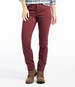 Women's Bean's Performance Stretch Slim Leg Jeans, Color