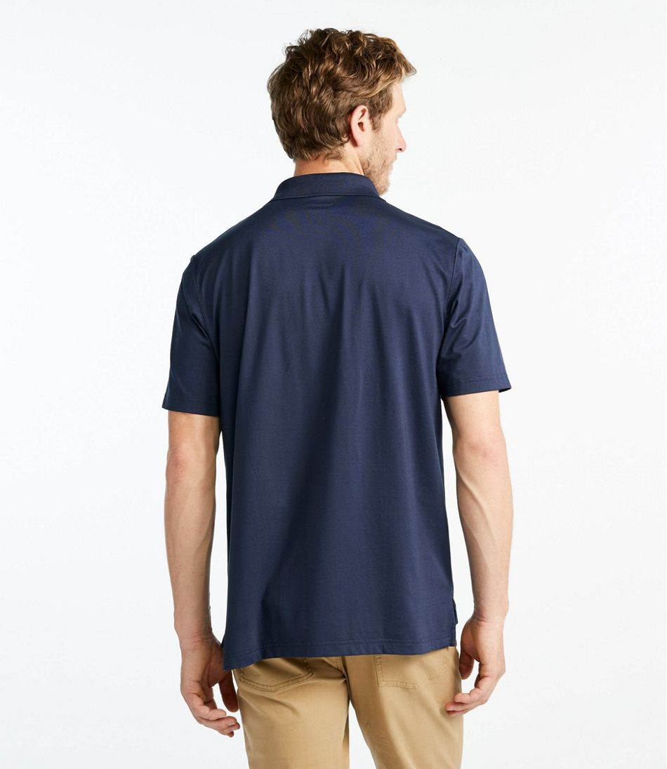 Vacationland Pima Cotton Blend Polo, Short-Sleeve