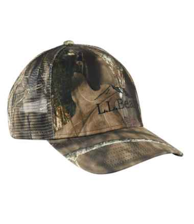Adults' L.L.Bean Camouflage Trucker Hat