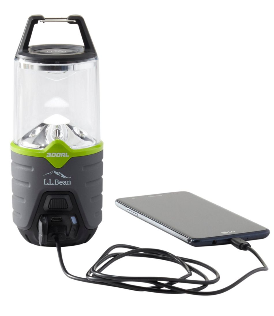 L.L.Bean Trailblazer 300 Rechargeable Lantern