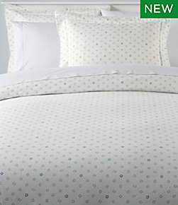 Organic Flannel Comforter Cover Collection, Print