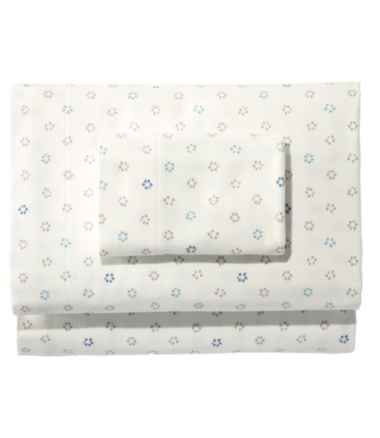 Organic Flannel Sheet Collection, Print