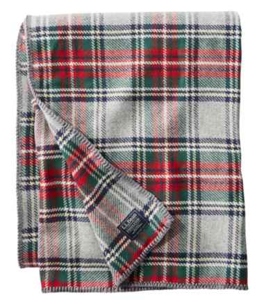 Washable Wool Blanket, Plaid
