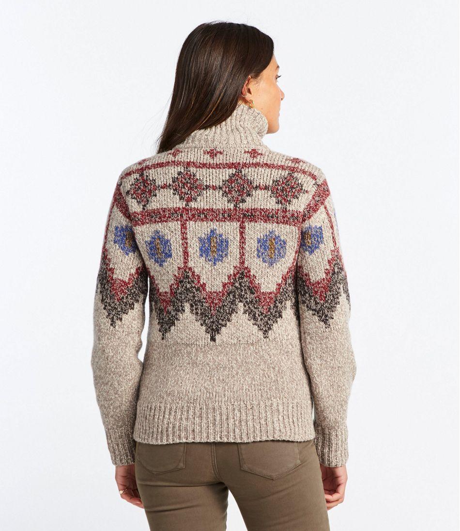 Signature Ragg Wool Sweater, Pullover Fair Isle