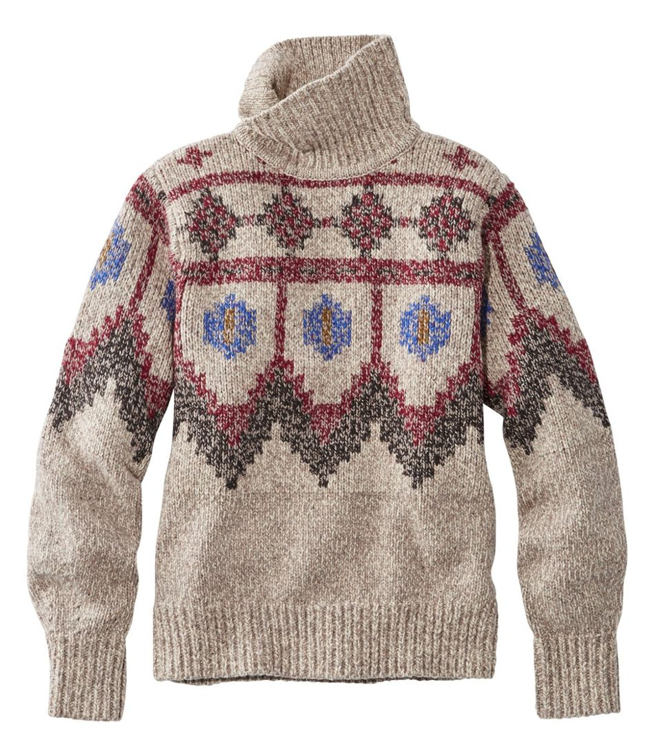Women's Signature Ragg Wool Sweater, Pullover Fair Isle