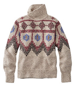 Signature Ragg Wool Sweater, Pullover Fair Isle
