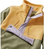 Women's Signature Organic Sweatshirt, Anorak Colorblock