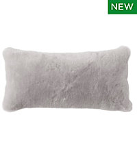 Shearling Throw Pillow, 11