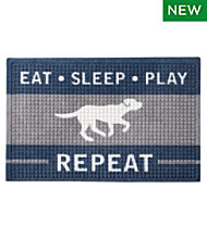 Everyspace Recycled Waterhog Dog Feeding Mat