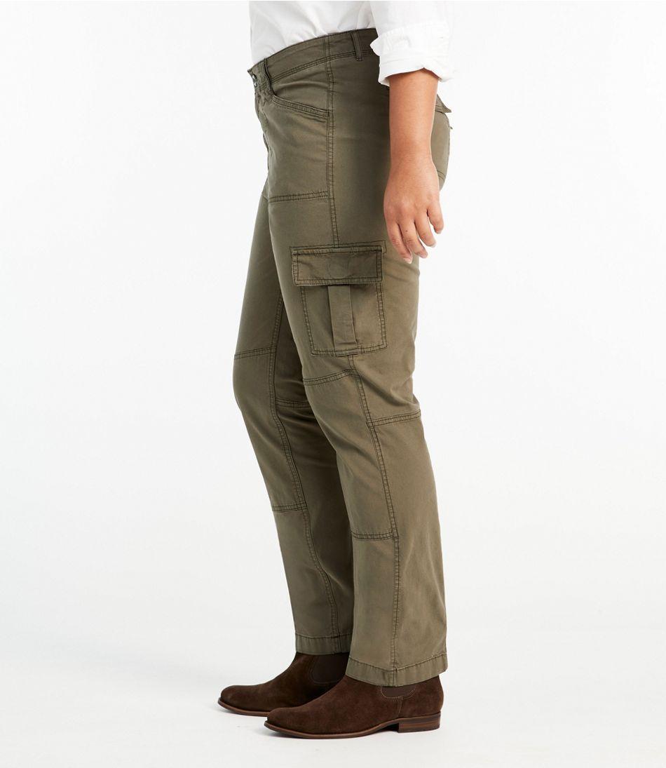 Stretch Canvas Cargo Pants