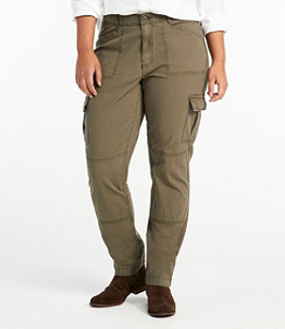 Women's Stretch Canvas Cargo Pants