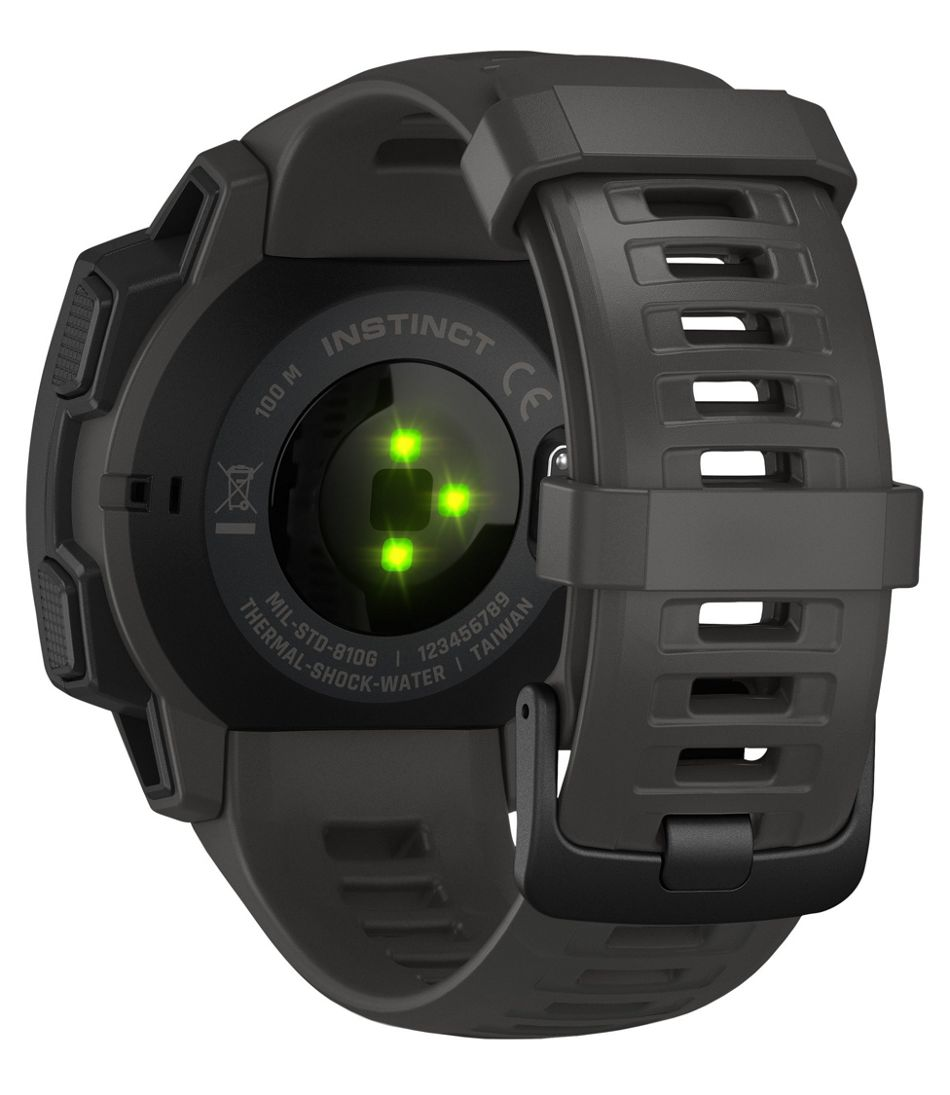 Garmin Gps Watch >> Men S Garmin Instinct Rugged Gps Watch
