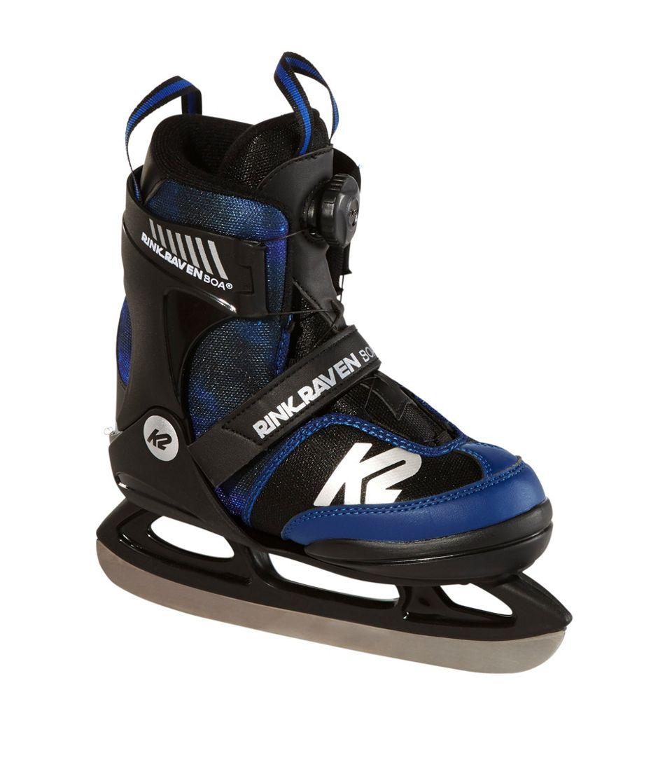 Kids' K2 Rink Raven Skates with Boa closure