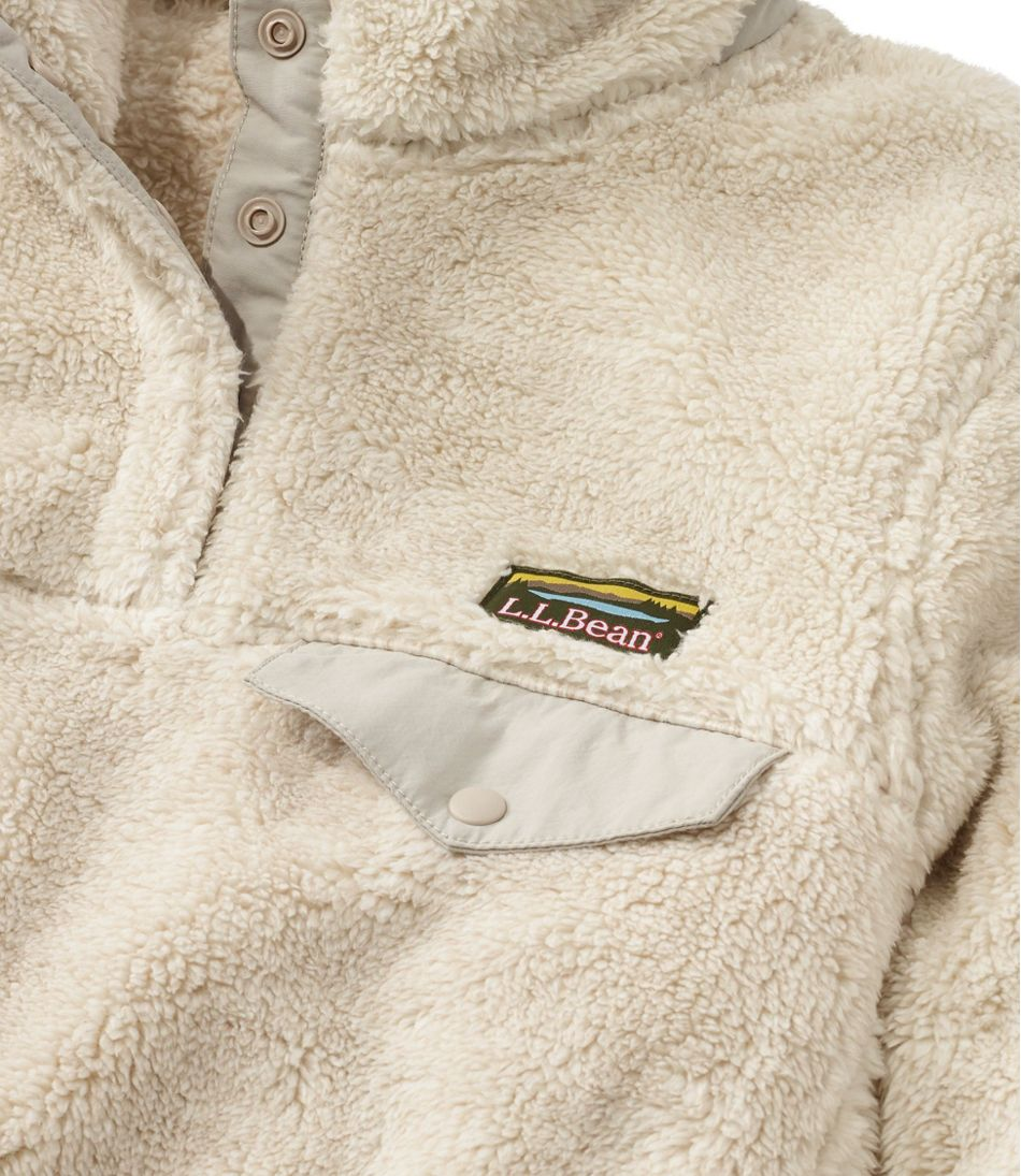 L.L.Bean Hi-Pile Fleece Pullover