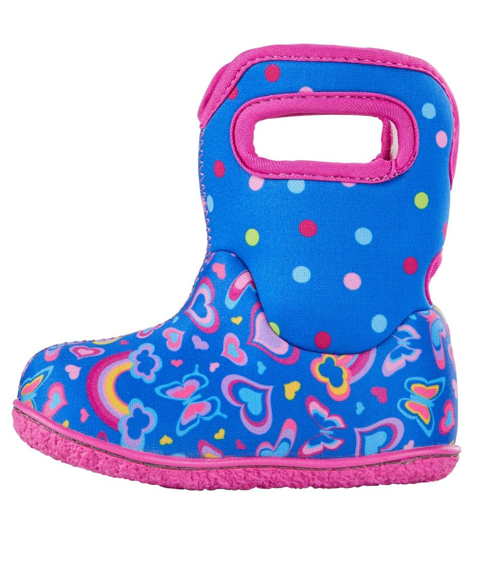 Toddlers' Baby Bogs Boots, Rainbows