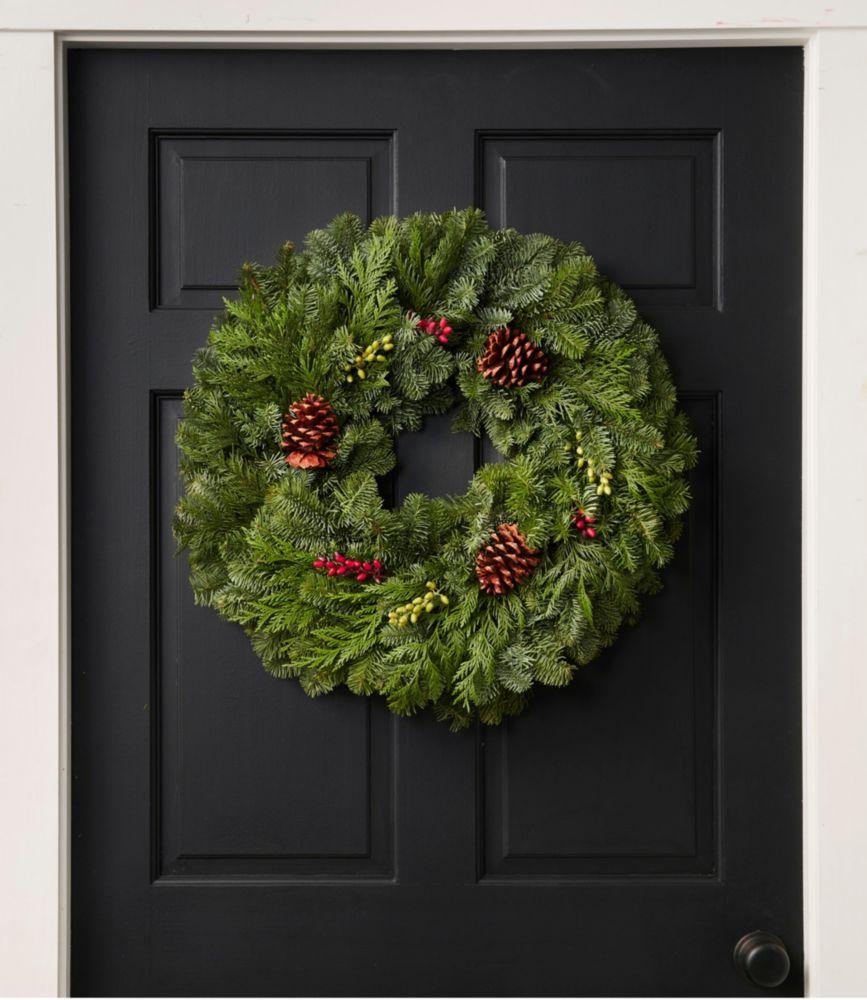 "Woodland Berry Wreath 24"""