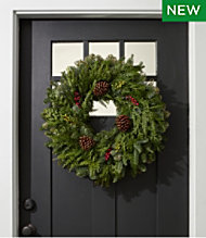 Woodland Berry Wreath, 24""