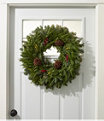 """Woodland Berry Wreath 24"""", One Color, small image number 1"""