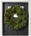 """Woodland Berry Wreath 30"""", One Color, small image number 0"""