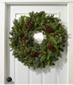 """Woodland Berry Wreath 30"""", One Color, small image number 1"""