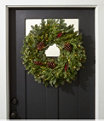 Woodland Berry Lighted Wreath, One Color, small image number 0