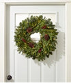 Woodland Berry Lighted Wreath, One Color, small image number 1