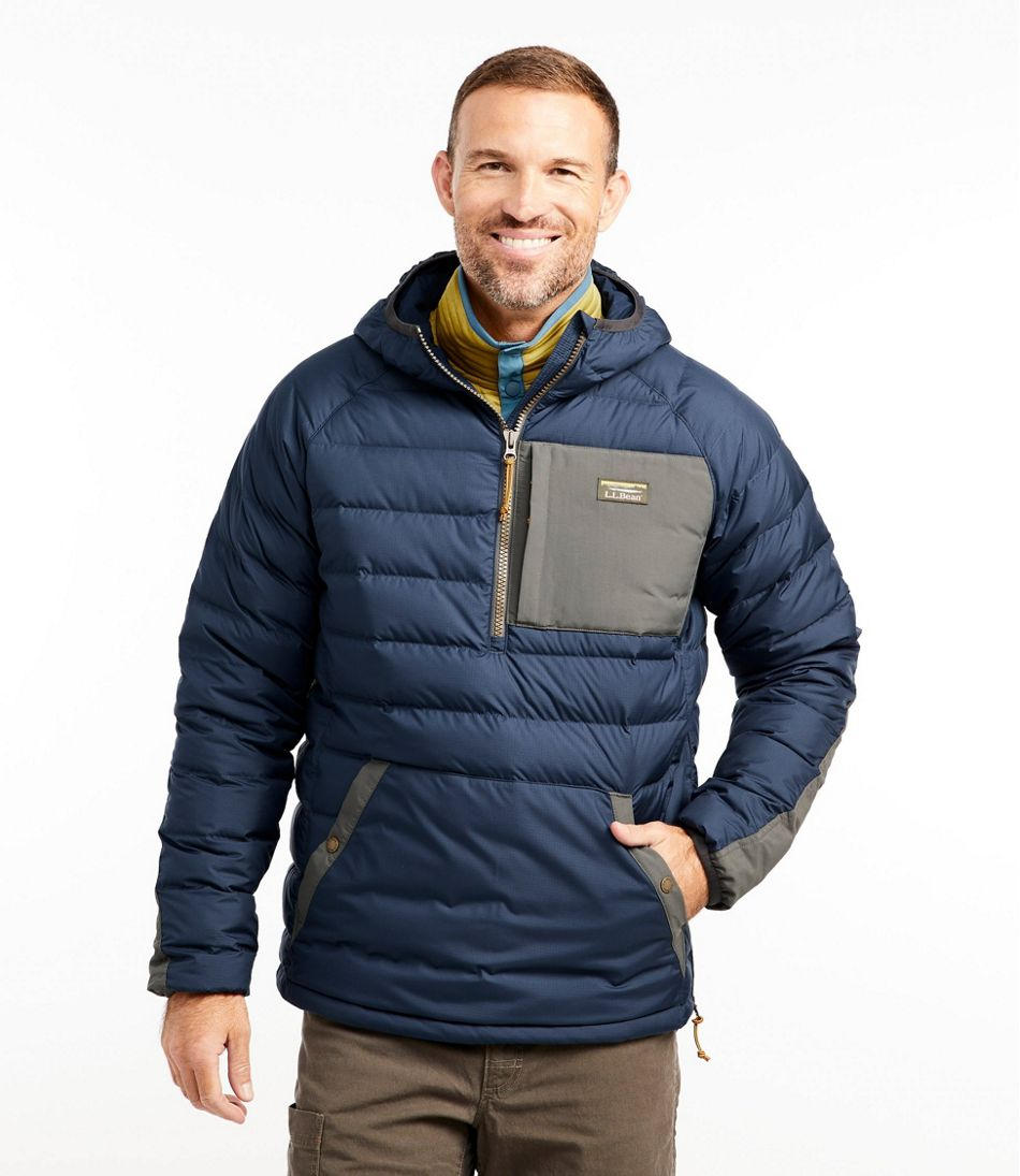 Men's Mountain Classic Down Pullover, Colorblock
