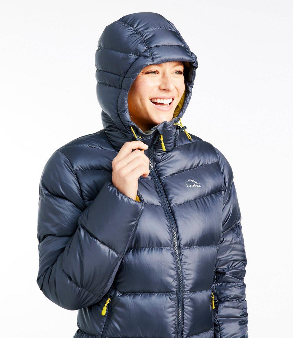 Women's Ultralight 850 Down Big Baffle Hooded Puffer Jacket