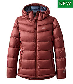 Women's Ultralight 850 Down Big Baffle Hooded Puffer Jacket